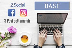 Offerta social media marketing base