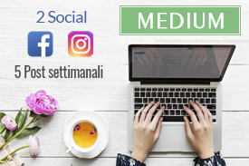 Offerta social media marketing medium